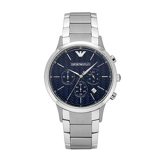 3dd5f3d27b17 Emporio Armani Reloj de Pulsera AR2486  Amazon.es  Relojes