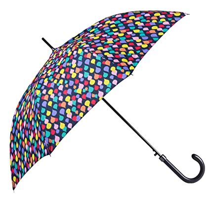 ed15d525f1 BOLERO OMBRELLI - Ombrello da Pioggia Lungo classico Antivento e Automatico  di alta qualità - apertura Automatica per permetterne ad una mano - Tessuto  ...