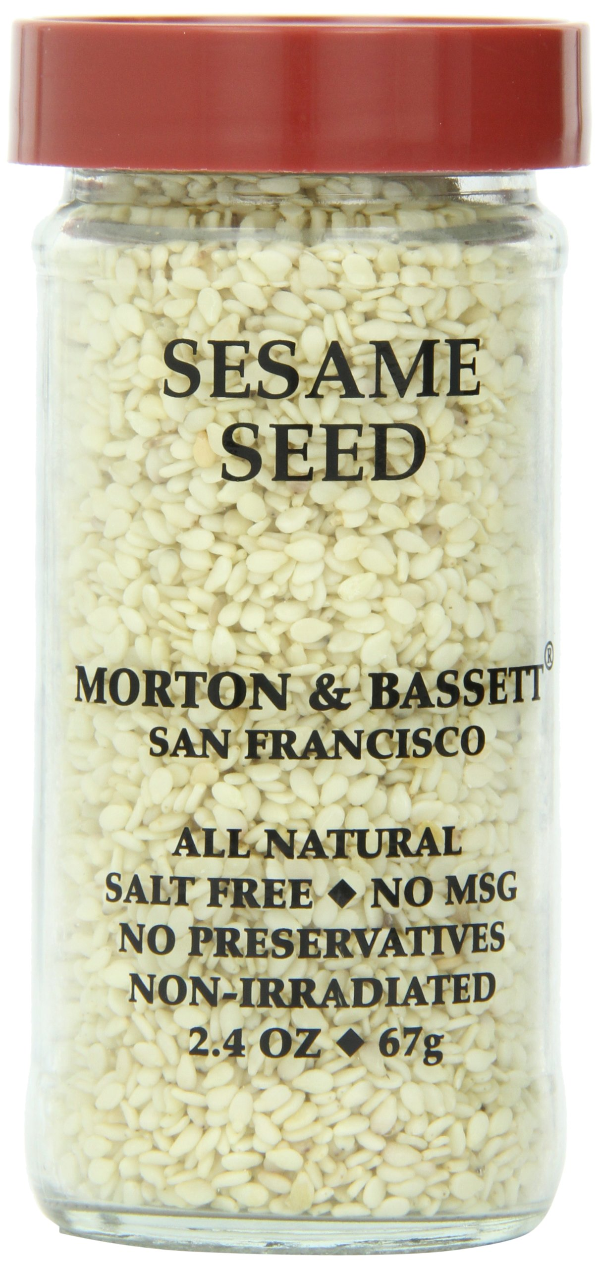 Morton & Basset Spices, Sesame Seed, 2.4 Ounce (Pack of 3)