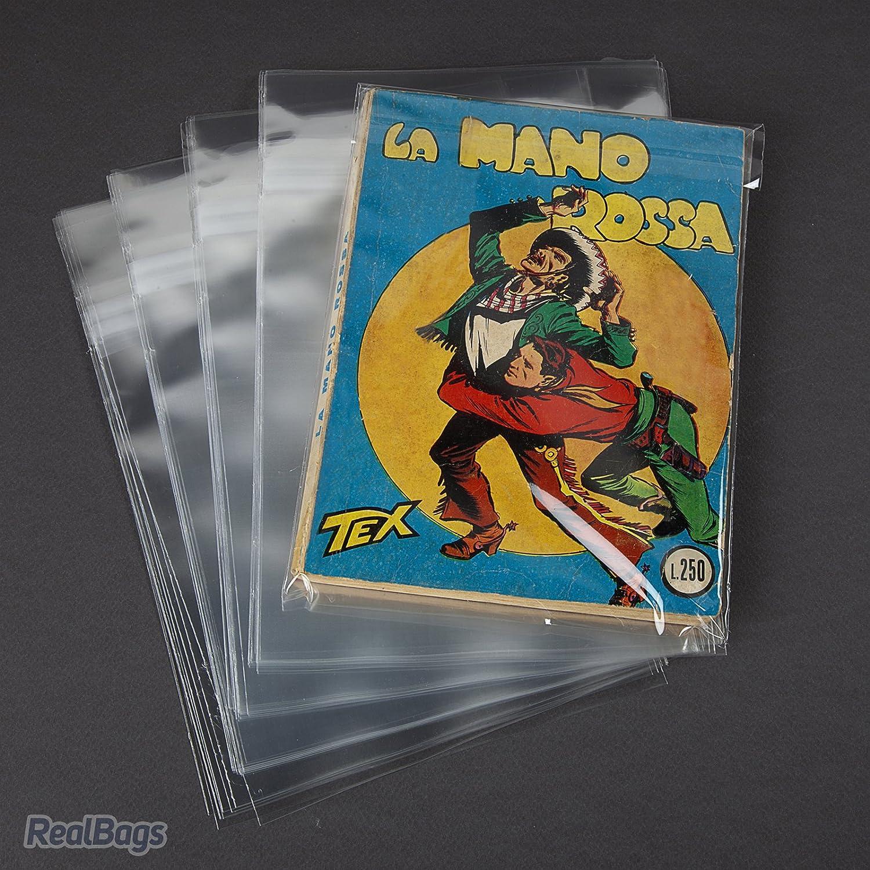 100 Buste per fumetti formato BONELLI - W.R. Buste