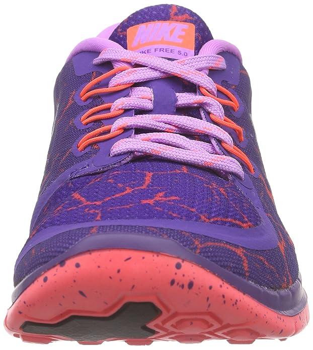Nike Kinder Free 5.0 Lava (Gs) Laufschuhe Crt PrplMtllc
