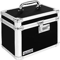Vaultz Locking Personal Security Box, 7.75 x 7.25 x 10 Inches, Black (VZ00102-2)