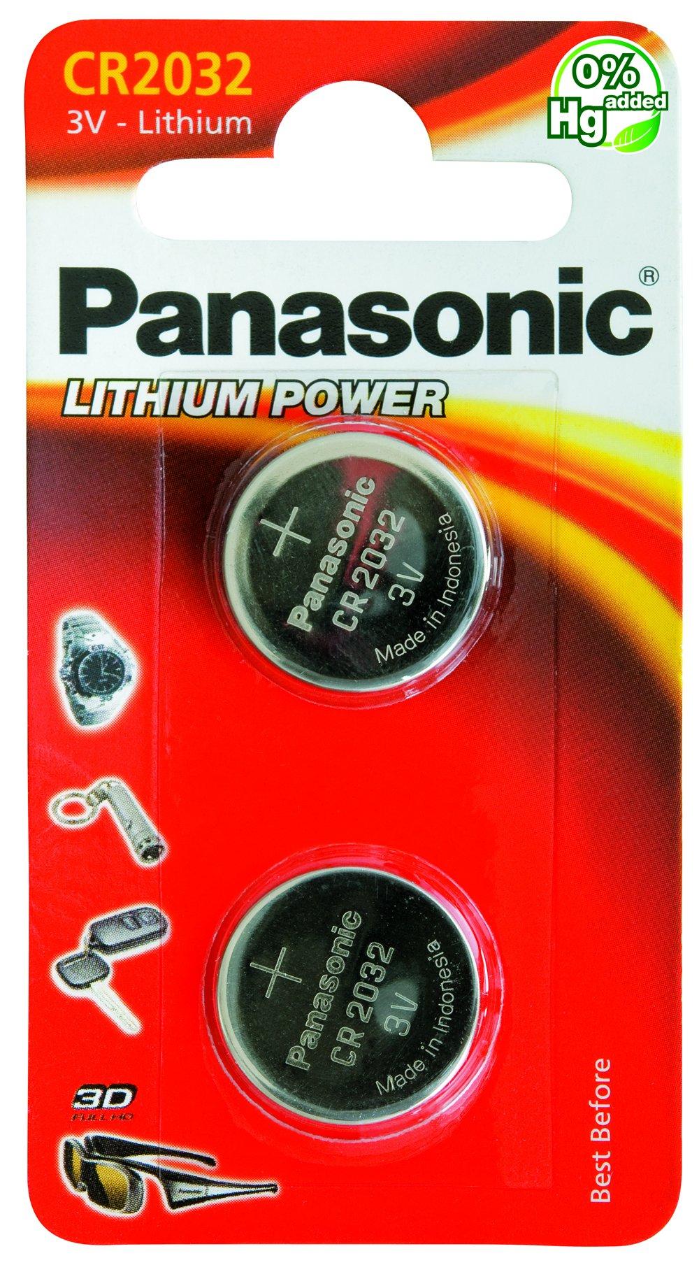 Amazon Com Panasonic Cr2032 3 Volt Battery Health