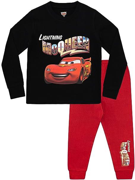 Disney Pijamas de Manga Larga para Niños Cars: Amazon.es: Ropa y accesorios