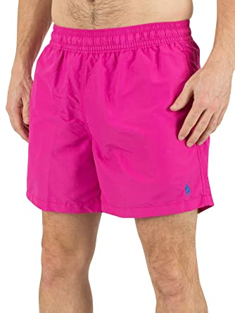 491882a4b918 Ralph Lauren Short de Bain Hawaïen Rose pour Homme  Amazon.fr ...