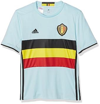 c6a5836469c 2016-2017 Belgium Away Adidas Football Shirt (Kids)