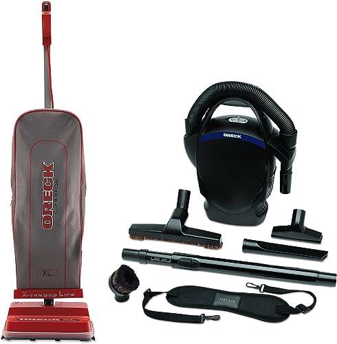 Oreck Commercial U2000RB-1 Commercial 8 Pound Upright Vacuum Bundle