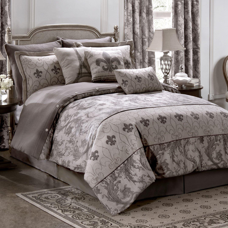 Queen Kimlor Mills 09080900082KM Karin Maki Chateau Comforter Set