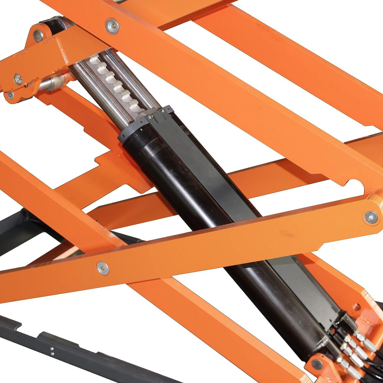 STRATUS Commercial Grade On-Ground Mounting Full Rise Ultra Thin Scissor Lift SAE-UT8000