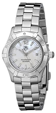 491b76516ce TAG Heuer Women s WAF1414.BA0823  quot Aquaracer quot  Stainless Steel  Dress Watch