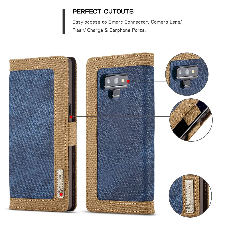 Amazon.com: Bpowe SM-Note 9 - Funda de piel para Samsung ...