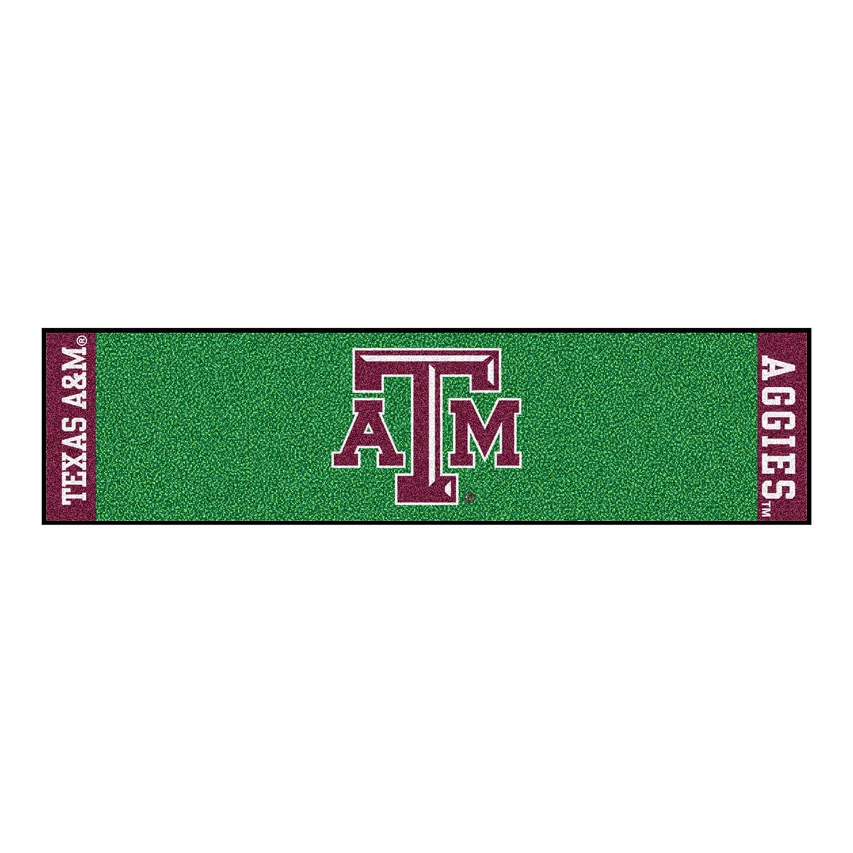 FANMATS NCAA Texas A/&M University Aggies Nylon Face Putting Green Mat