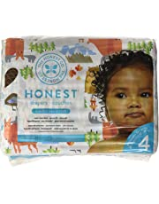 The Honest Company into the wild limited edition Disposable diapers, Canadian print, size 4, 29 Count