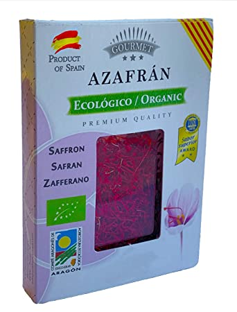 d175602fa072 Image Unavailable. Image not available for. Color  Organic Spanish Saffron  Threads Aragon Special Best Grade ...