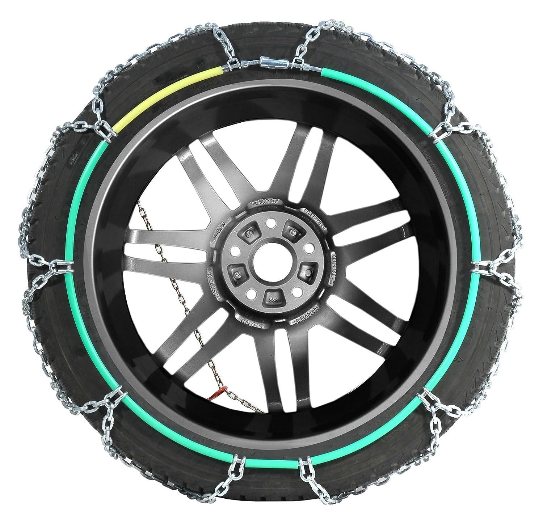 T/ÜV gepr/üft, Compass Schneeketten SUV-Van f/ür Reifen 215//65 R16 1 Paar 230 Extra stark 16x27mm