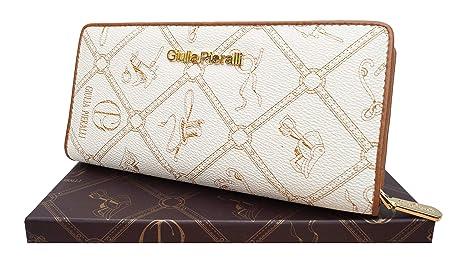 f821e86848b571 ☆LT LadiesTrends präsentiert Design Giulia Pieralli Damen Geldbeutel  Elegant Portmonee XXL Portemonnaie aus hochwertigem Kunstleder
