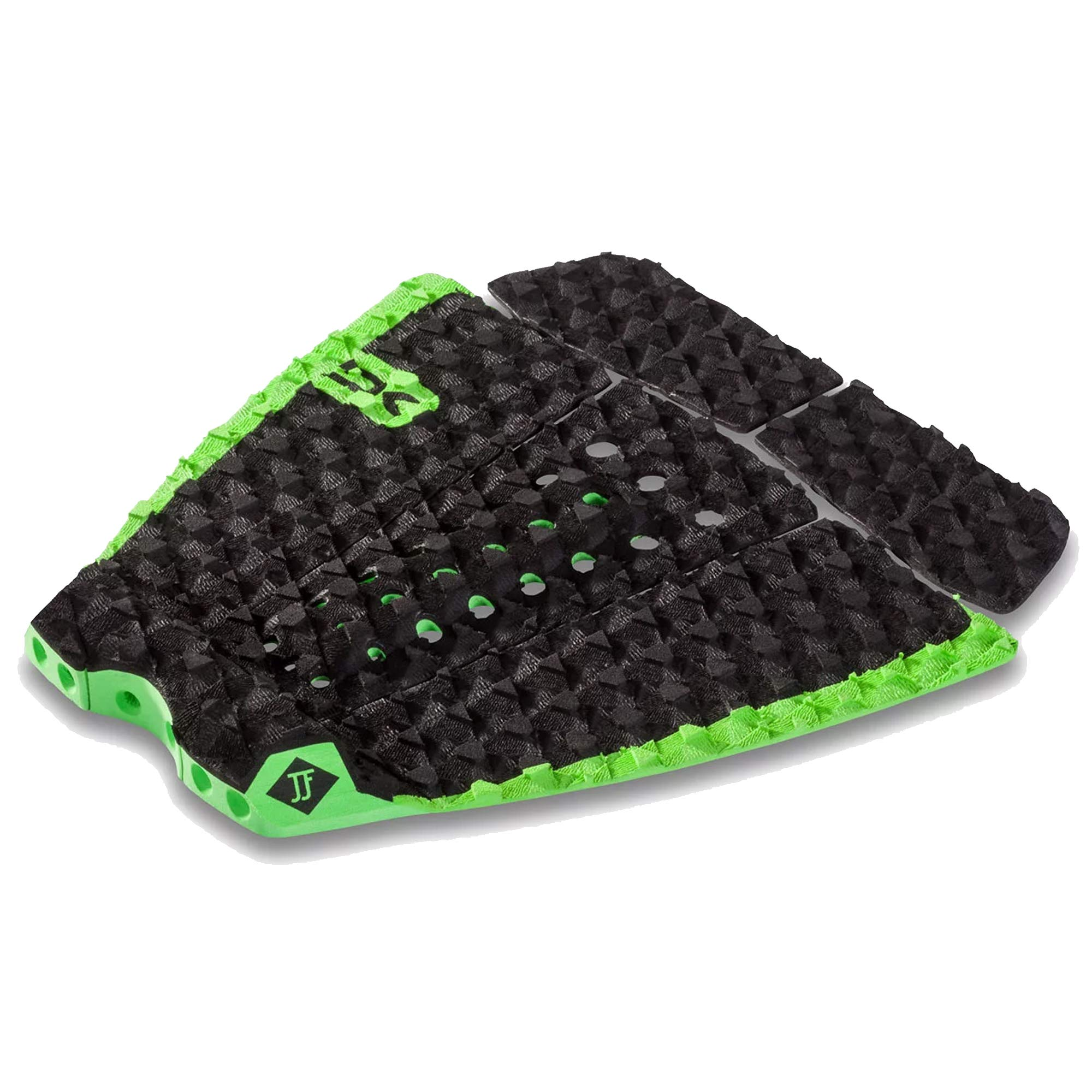 Dakine John John Florence Pro Surf Traction Pad, Black/Green, One Size by Dakine