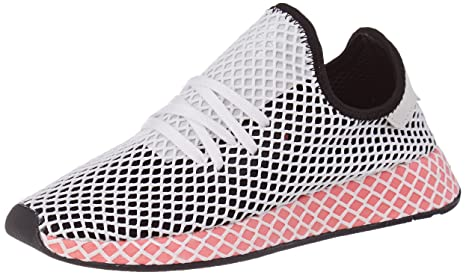 sports shoes 8d7d5 b795e Adidas Women s Shoes Deerupt Runner W Black White Pink size 6