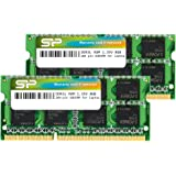 Silicon Power 16GB (2 x 8GB) DDR3 1600MHz (PC3 12800) 204-pin CL11 1.35V SODIMM Laptop Memory Module - Low Voltage and…