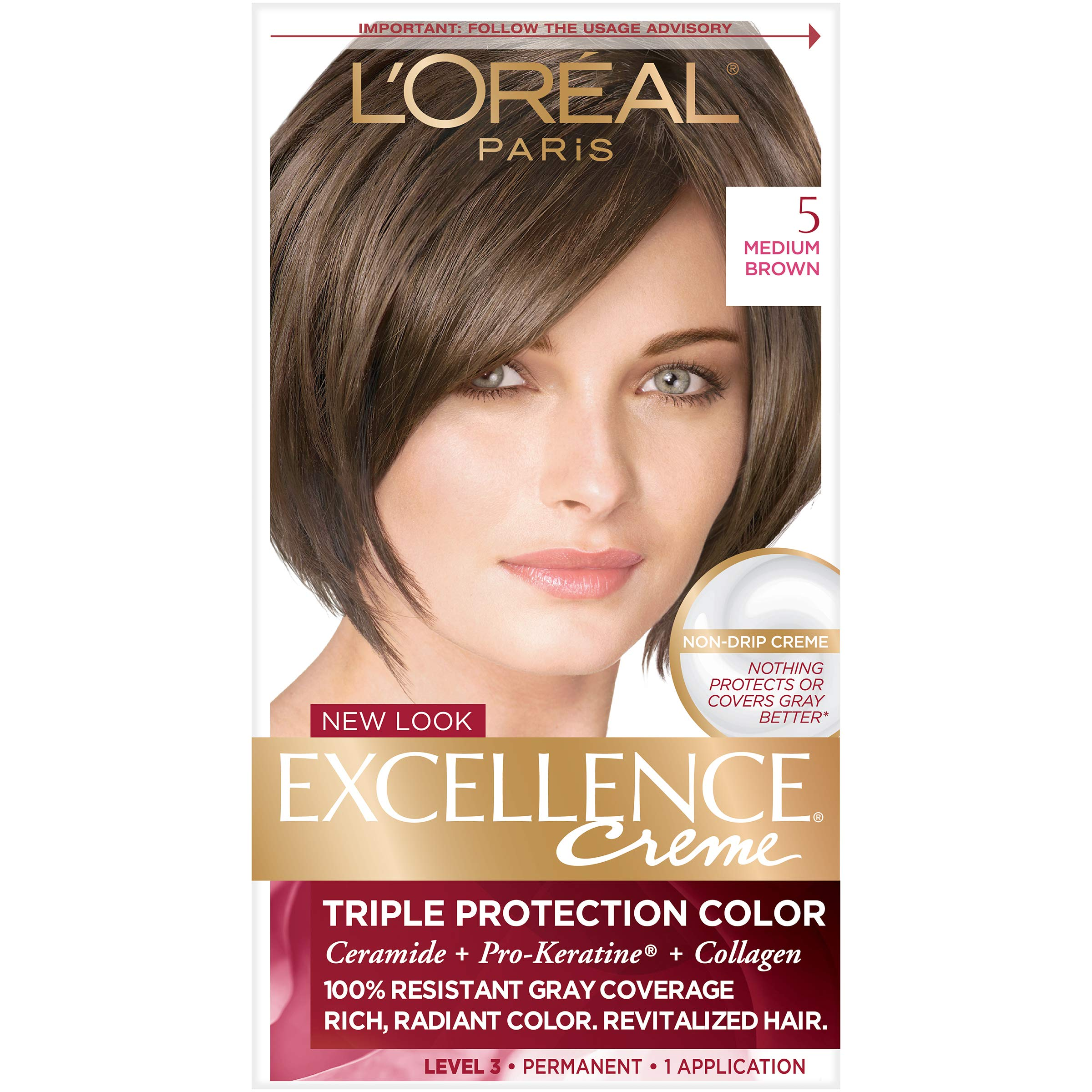 Amazon Loreal Paris Excellence Creme Hair Color 5 Medium
