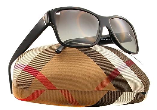 e1bb5f26c13 Burberry 4136 300111 Black 4136 Square Sunglasses Lens Category 2   Amazon.co.uk  Clothing