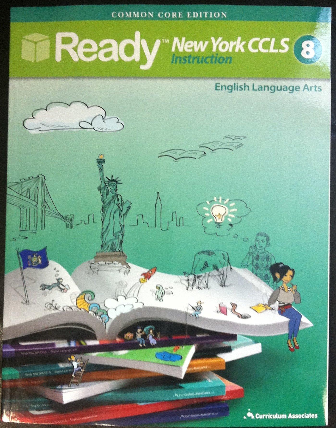 Download New York Common Core Grade 8 ELA Student Instruction Book pdf
