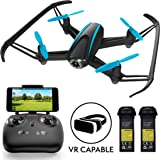 """Force1 Drones with Camera Live Video - """"U34W Dragonfly"""" WiFi Drone with Camera Live Video + Extra RC Drone Battery and FPV Camera Drone Capability"""