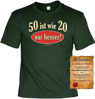 Zum 50 Geburtstag Liebes Spruche Tshirt 50 Ist Wie 20 Nur