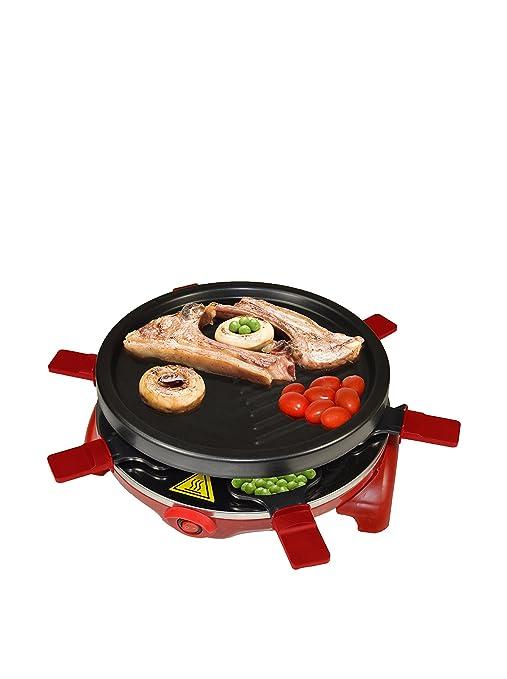 Jocca / 5524 Raclette Grill, redonda, color negro 800 W