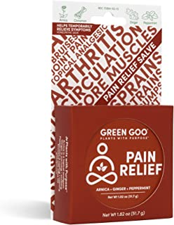 product image for Green Goo Natural Skin Care Salve, Pain Relief with Arnica, 1.82-Ounce Large Tin, 3-Pack