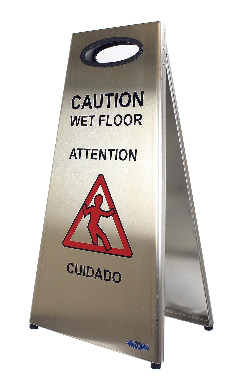 Frost 1119 Wet Floor Sign, Metallic