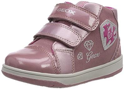 impactante semanal lanzar  Geox Baby B New Flick Girl C Low-Top Sneakers, (Dk Pink C8006), 5 UK Child:  Amazon.in: Shoes & Handbags