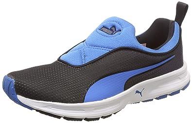 d5d3eafe5ebd5 Puma Women's Black-French Blue Running Shoes-4 UK/India (37 EU ...