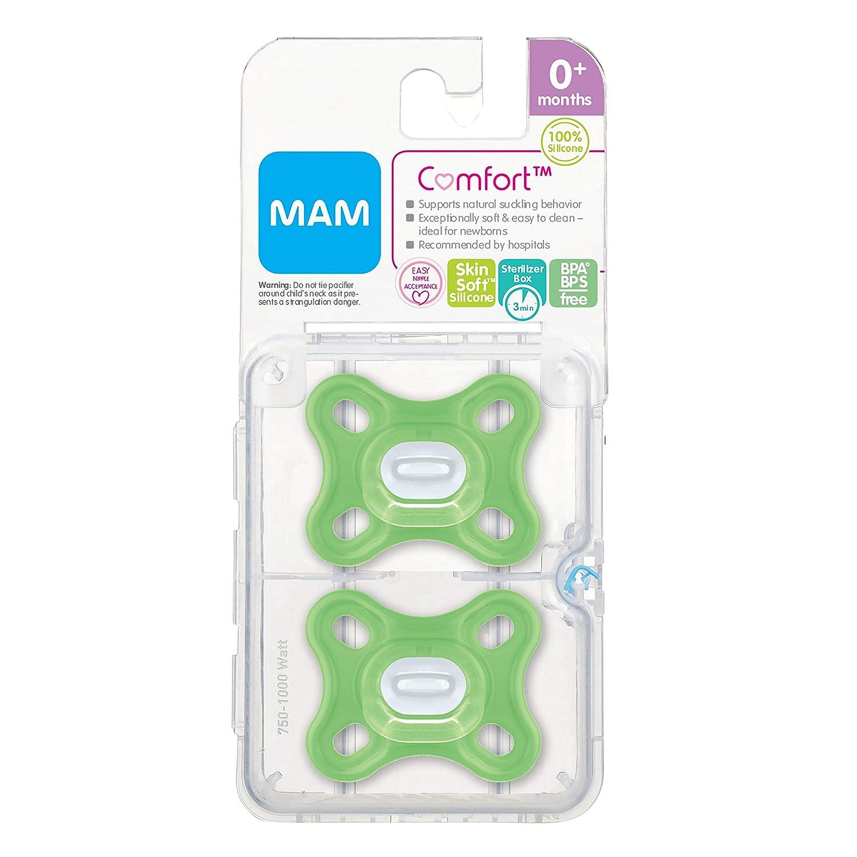 Amazon.com: MAM Chupetes para bebé, chupete de 0 a 4 meses ...