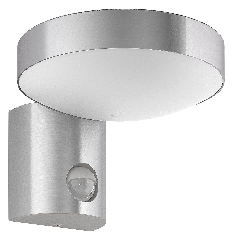 Philips myGarden LED Wandaussenleuchte Cockatoo, 800lm, Edelstahl, Bewegungsmelder, Gartenleuchte [Energieklasse A++] 915005379101