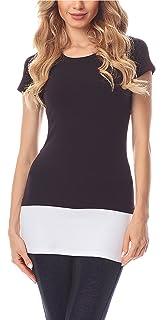 a4f48b42773e Merry Style Rallonge Extension Ceinture T-shirts Mini Jupe Moulante Femme  MS10-202