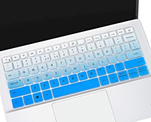 Keyboard Cover Skin for 13.3 inch Dell Inspiron 13 5000 5390 5391 5300/Inspiron 13 7000 7300 7390 7391 7306/Dell Vostro 13 5390 5391 5490, 14