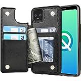 Arae Case for Google Pixel 4XL - Wallet Case with PU Leather Credit Card Holder Pockets Back Flip Cover for Google Pixel 4XL