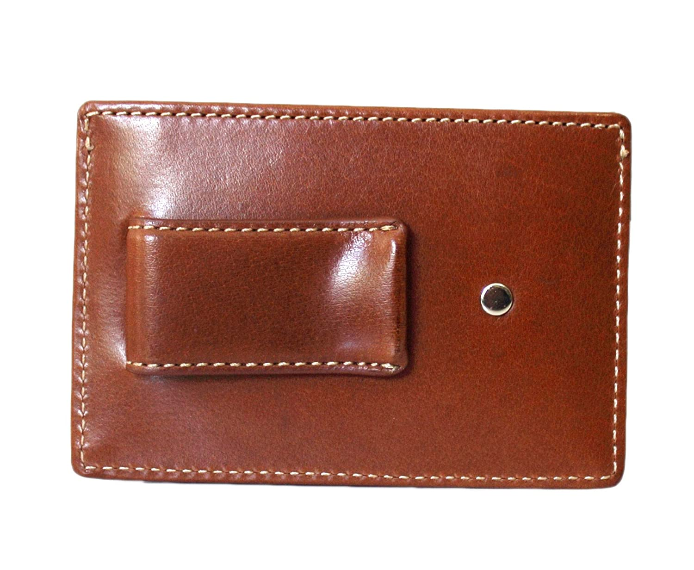 buy popular 3e6c4 631ba Coach Water Buffalo Money Clip Card Case Wallet British Tan F74393 ...
