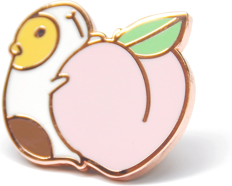 Noristudio Guinea Pig Enamel Pin for Guinea Pig Lovers