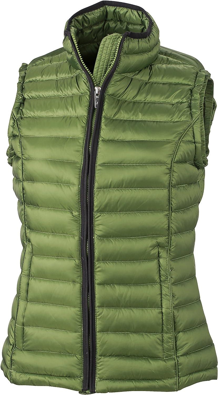 James /& Nicholson Womens Weste Ladies Down Vest Jacket