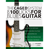 The Caged System and 100 Licks for Blues Guitar: Complete With 1 hour of Audio Examples: Learnt to Play The Blues Your…