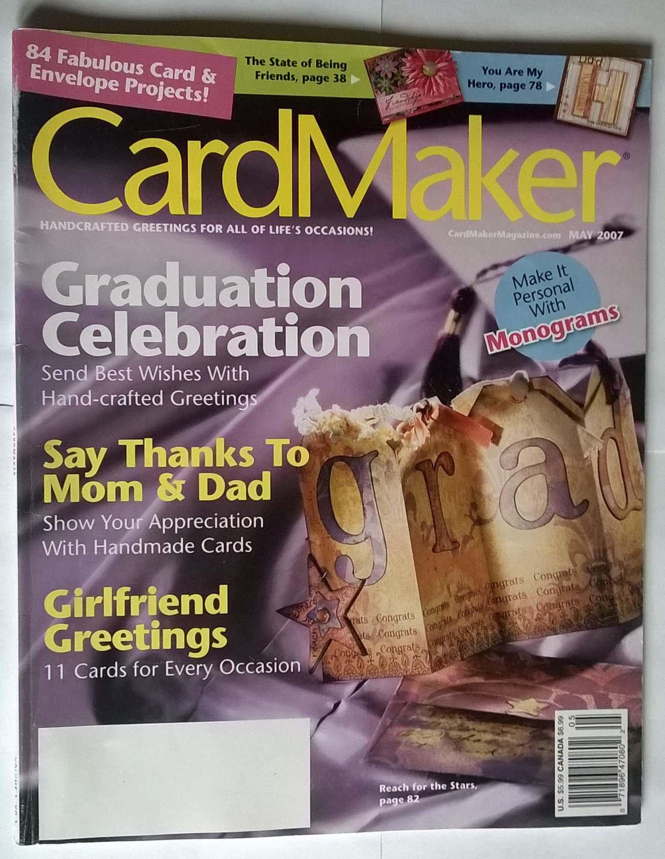 Download Card Maker Magazine May 2007 ebook