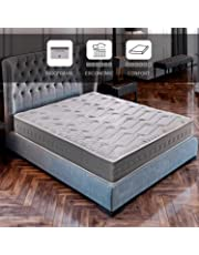 ROYAL SLEEP Colchón viscoelástico Carbono 135x190 firmeza Alta, Gama Alta, Efecto regenerador, Altura 25cm - Colchones Ceramic Plus