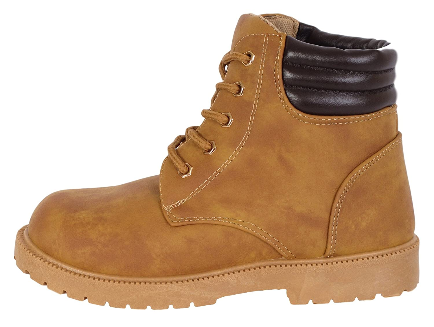 Rugged Bear Boys Lace Up Work Boot Toddler, Little Kid, Big Kid