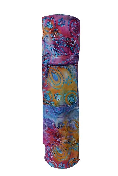 Tvamm-Lifestyle - Esterilla de Yoga Funda Batik Plástico ...