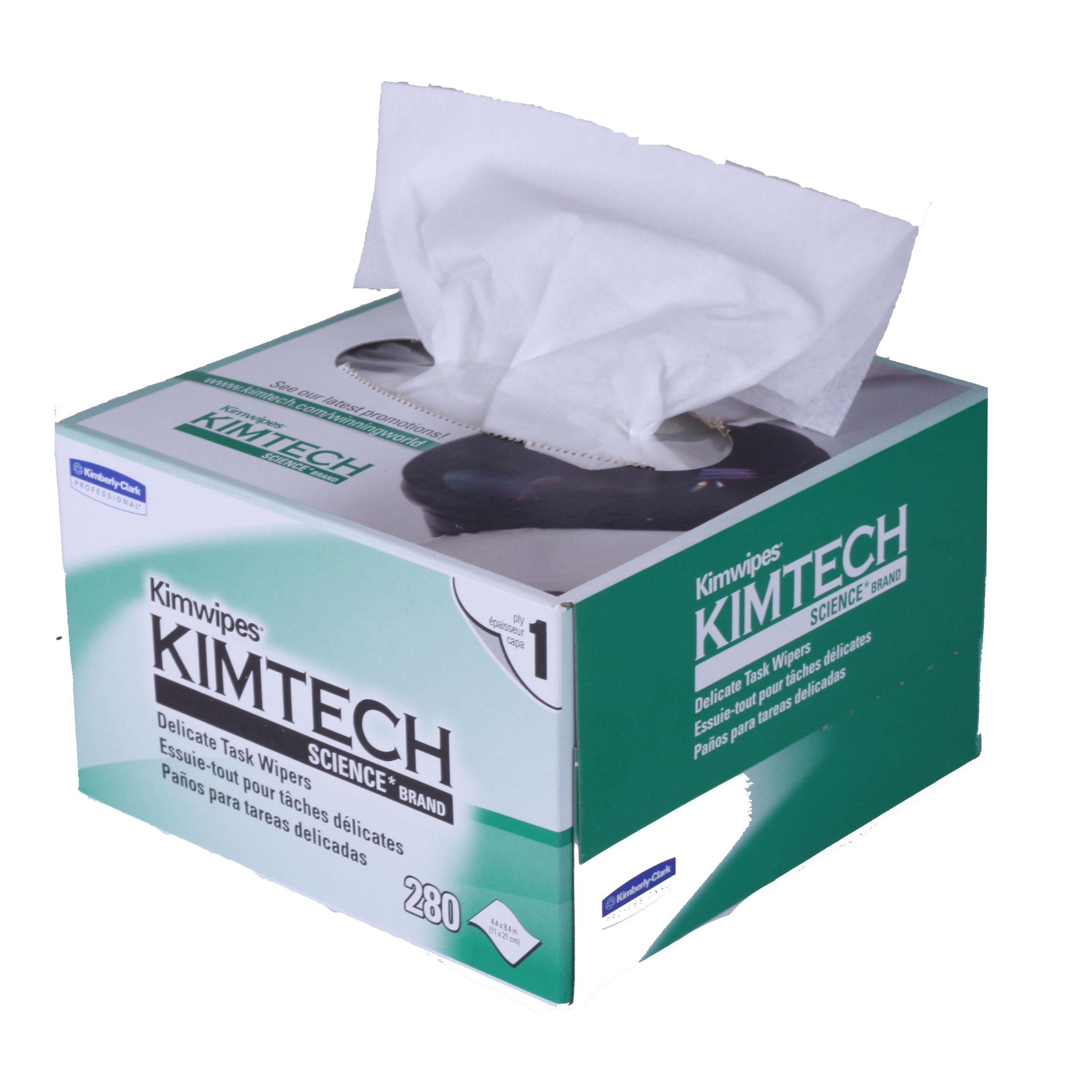 Case of Kimwipes EX-L (60 Boxes)