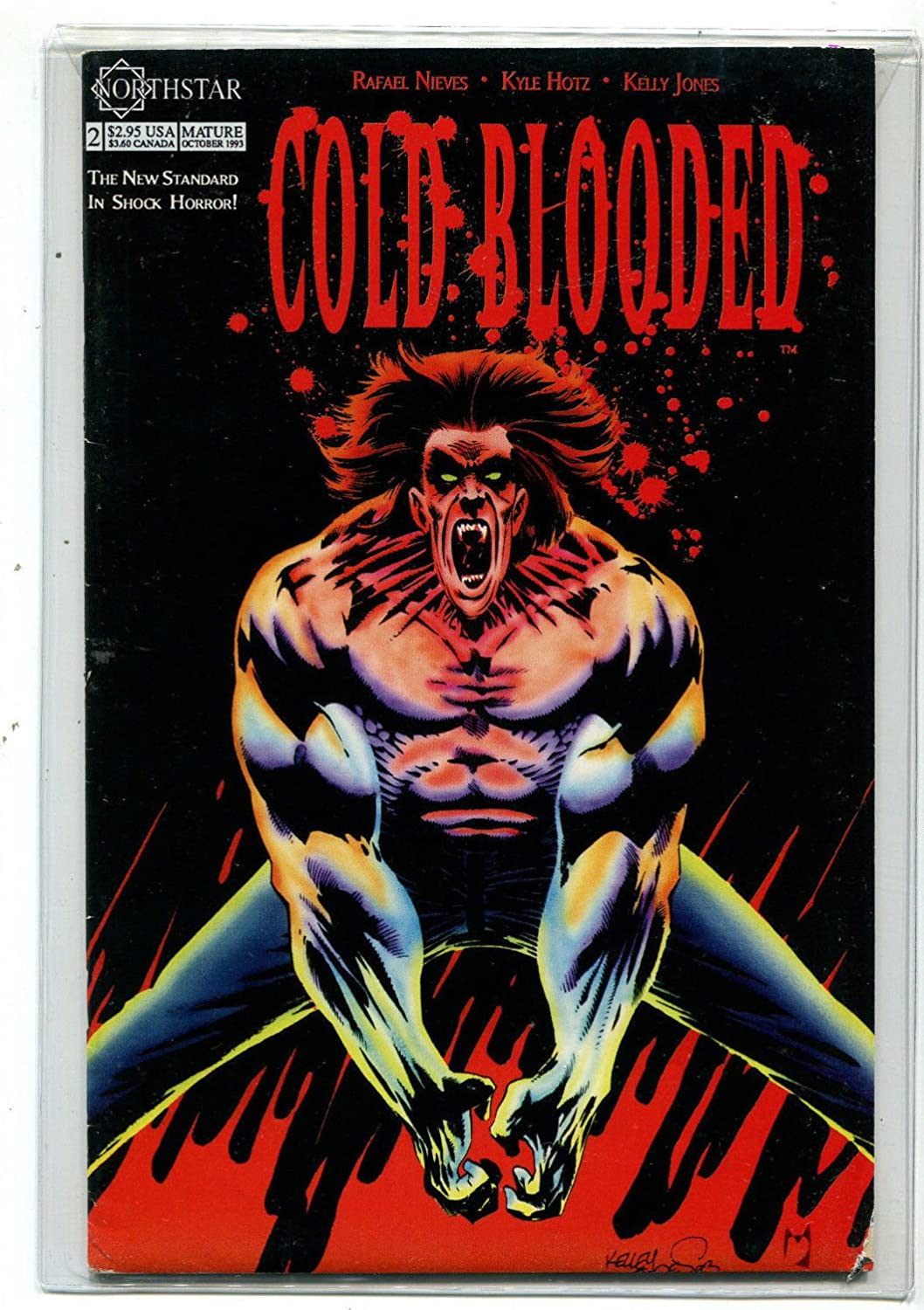 Cold Blooded #2 NM  New Standard In Shock Horror Northstar Comics CBX24