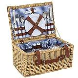 SUPER DEAL Picnic Basket Wicker Hamper Set