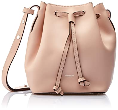 5c5919f4e22e Oroton Women's Escape Mini Bucket Bag, Dusty Pink, One Size: Amazon ...